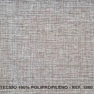 Poltrona Reclinavel Padua Tecido Polipropileno 1880 - Cinza Claro - Delare