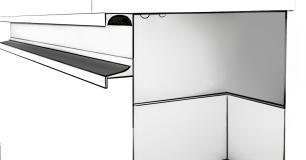 Gabinete De Banheiro 100% Mdf Treviso 79 Cm  Café - Mgm