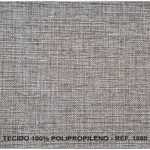 Poltrona Reclinavel Diana Tecido Polipropileno 1880 - Cinza - Delare