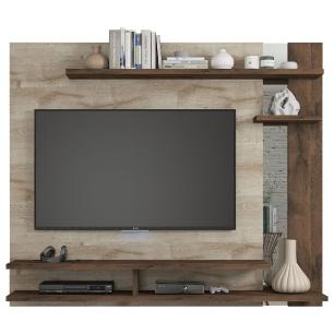 Painel Para TV Havai Rustico/Cafe - Permobili