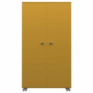 Armario Multiuso 2 Portas - Amarelo - Primolar