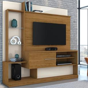Home Theater Dimas - Naturale/Off White - Madetec