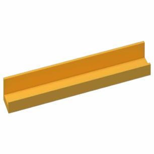 Prateleira U Tamanho M - Amarelo - Primolar