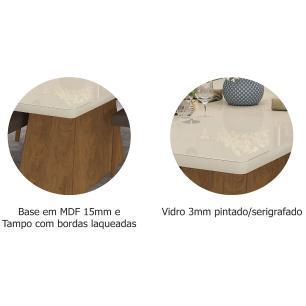 Mesa Helen 130cm x 80cm - Savana/Off White - Cimol