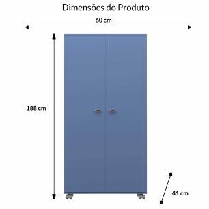 Armario Multiuso 2 Portas - Serenity - Primolar