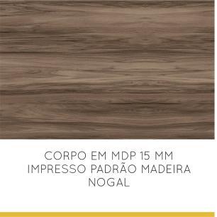 Balcão de cozinha 1 Porta 1 Gaveta Nesher Baronesa  80 cm - Branco - Nesher