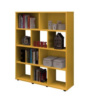 Estante Book - Amarelo - Artely