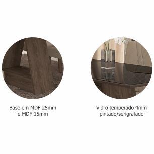 Sala Jantar Alana 130 Cm x 80 Com 4 Cadeiras Milena Marrocos/Preto/Sued Bege - Cimol