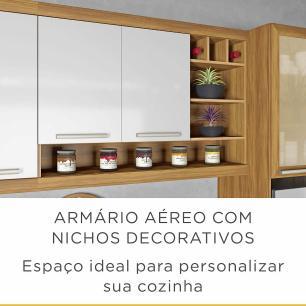 Cozinha Nesher 5 Peças Burguesa 1 - Freijo/Branco - Nesher