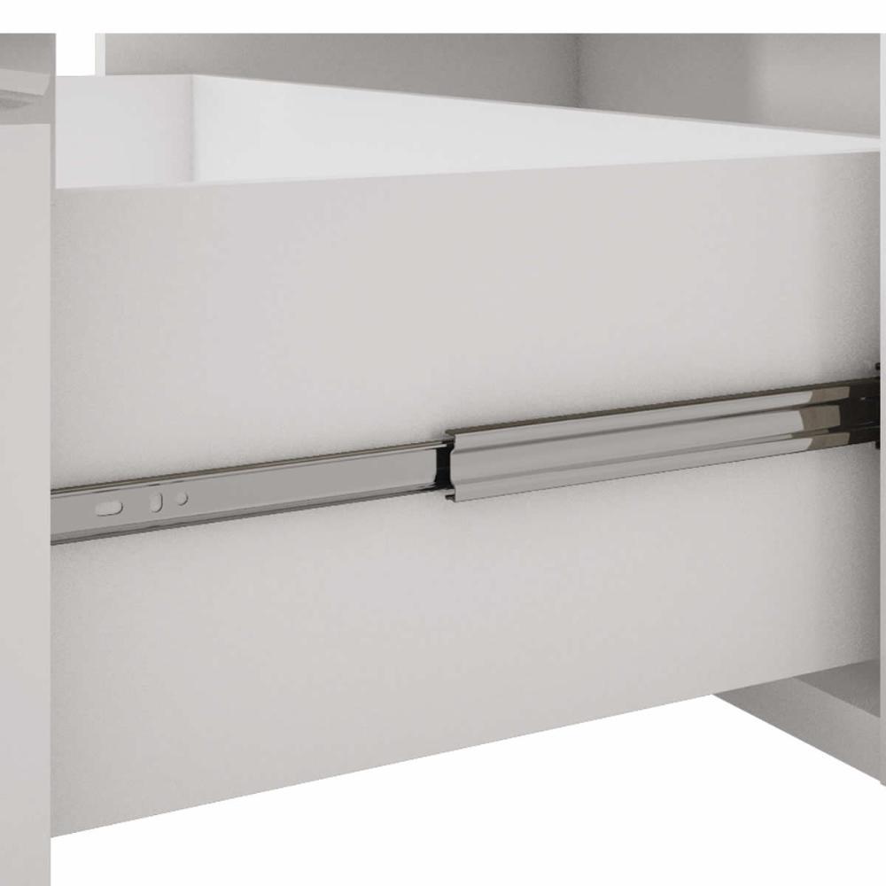 Balcao De Cozinha 100% Mdf Flex 94 Cm Branco/Carvalho - Mgm