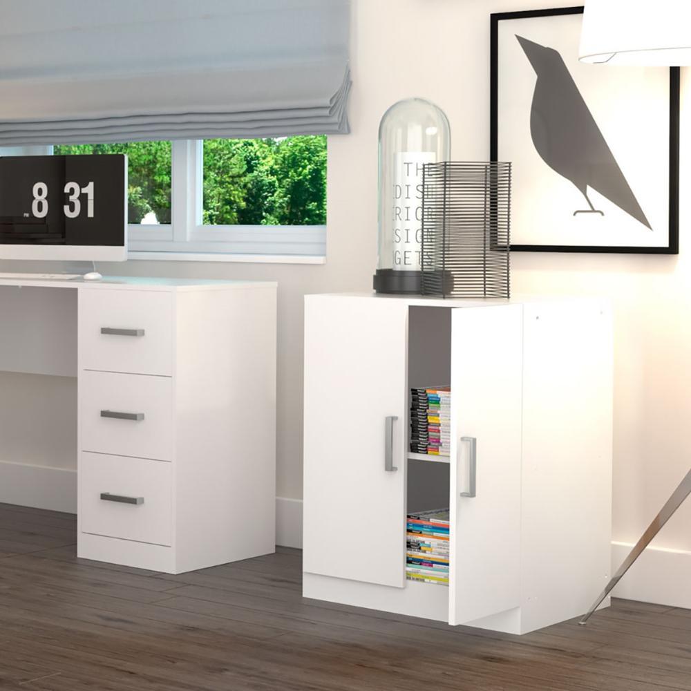 Balcão Para escritório Office Plus - Branco - Appunto