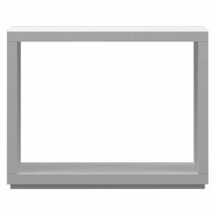 Modulo Vazado Multiuso Style - Branco - Primolar