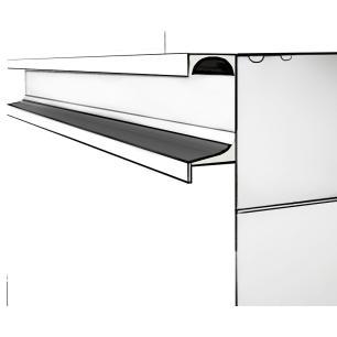 Gabinete De Banheiro 100% Mdf Aveiro 60 Cm Sobrepor Carvalho/Branco - Mgm