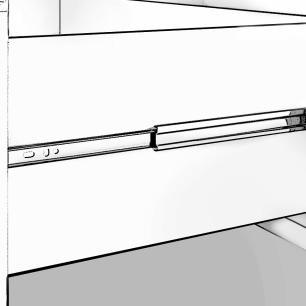 Gabinete De Banheiro 100% Mdf Azaleia 79 Cm Porta Vidro Amendoa/Branco - Mgm