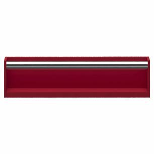 Prateleira Com Aparador Tamanho M - Vermelho - Primolar