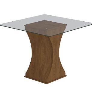 Mesa Andreia 100cm x 100cm - Savana - Cimol