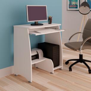 Mesa Para Computador Pixel - Branco - Artely