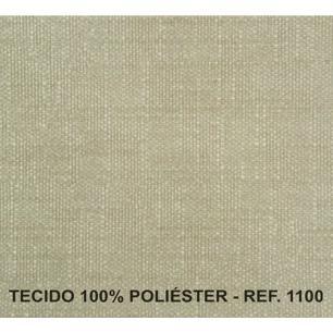 Poltrona Reclinavel Diana Tecido Veludo Austin 1100 - Areia - Delare