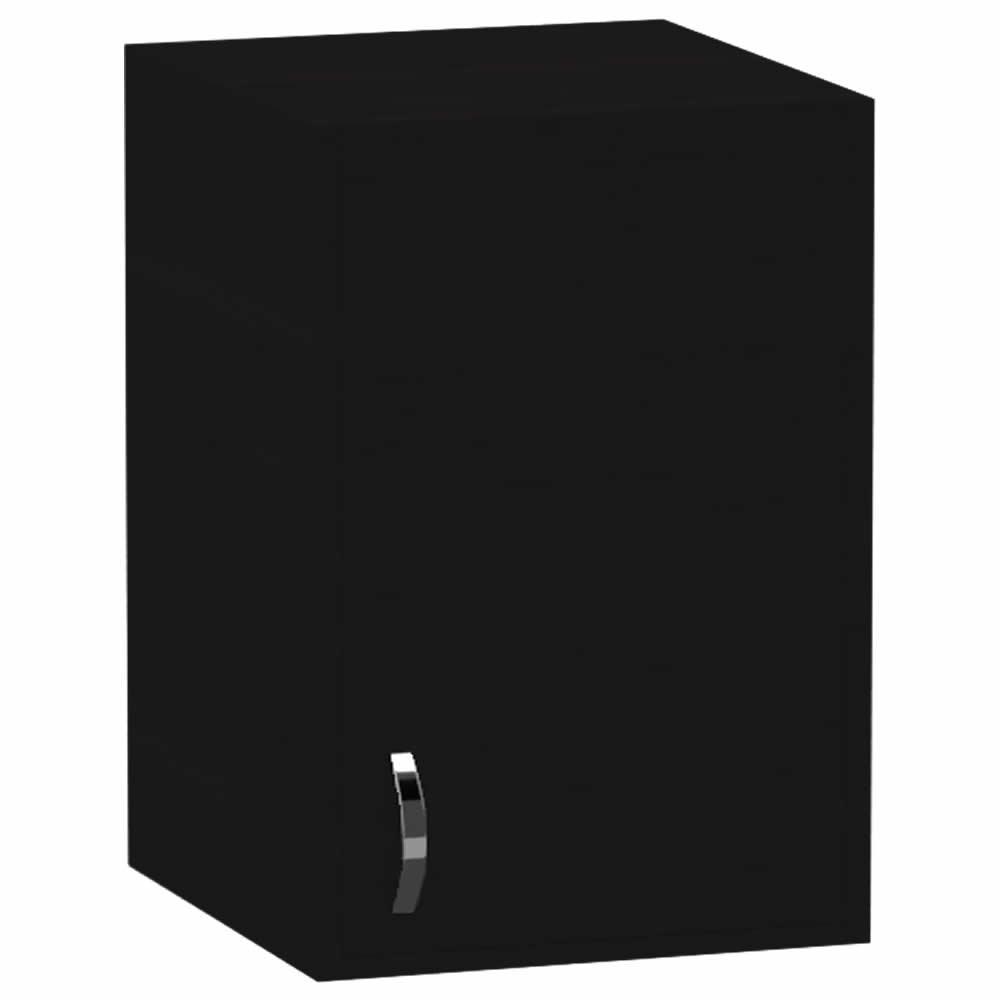 Armario Suspenso 1 Porta - Preto - Primolar