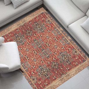 Tapete para Sala DNA Home Antique Oushak Antiderrapante 200x140cm