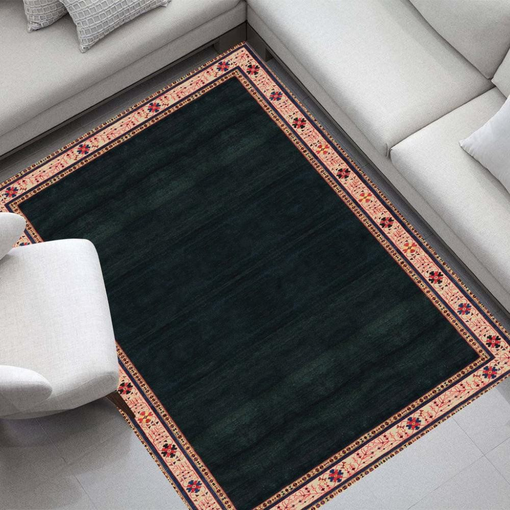 Tapete para Sala DNA Home Shirvan Talish Antiderrapante 200x140cm