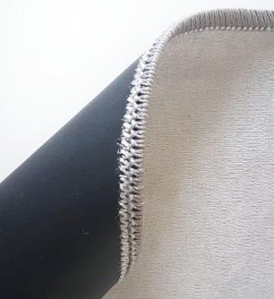 Tapete Para Sala Arrel Negatiu DNA Home Antiderrapante 200x140 cm