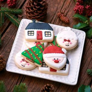 Cortadores de biscoito de Natal – Fox Run