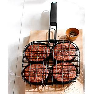 Grelha para hamburguer - Prana GrillΠzza