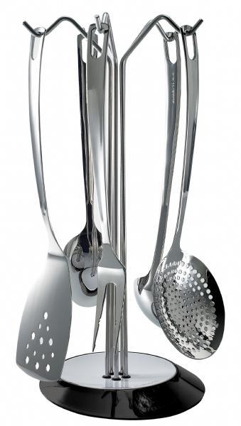 Conjunto com utensílios essenciais e suporte Glamour – Bugatti