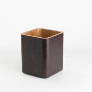 Porta lápis em madeira nobre - Simply
