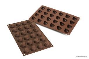 Molde de silicone para chocolate Chocopanda - Silikomart