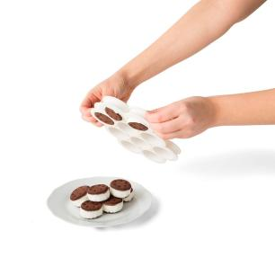 Conjunto de Molde e espátula para Ice Cream Sandwhich - Chef'n