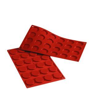 Forma de silicone Fiorentini com 24 cavidades - Silikomart