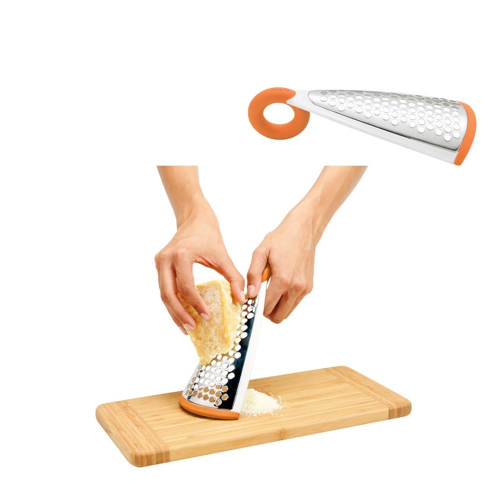 Ralador de queijo em inox com cabo emborrachado - Chef'n