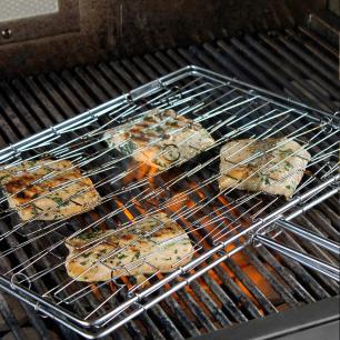 Grelha flexível para grelhados antiaderente Grill&pizza Prana