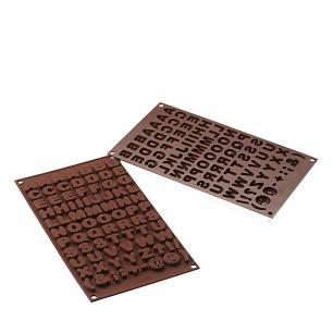 Molde de silicone para chocolate ABC - Silikomart