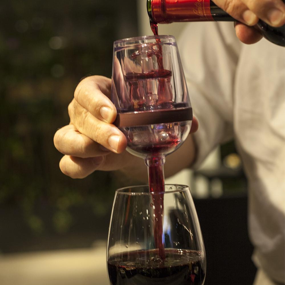 Aerador de vinhos taça Prana Garden du Vin