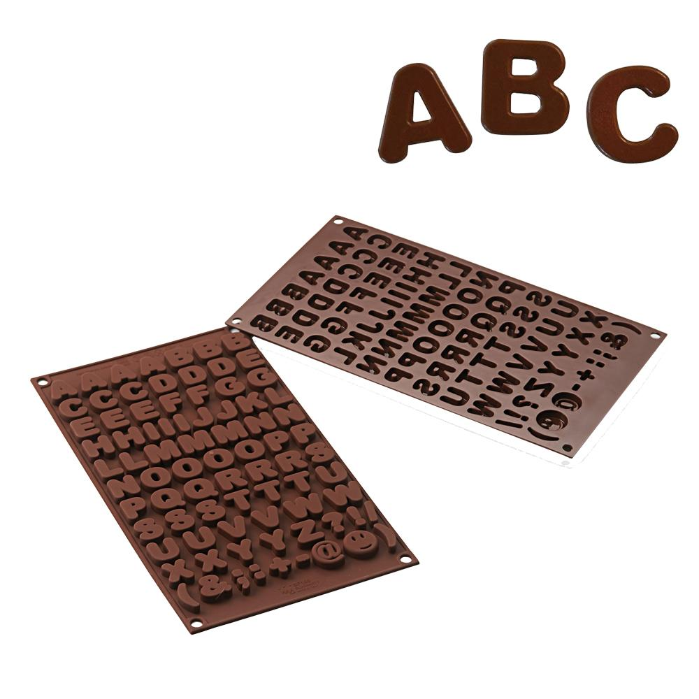 FORMA CHOCOLATE ABC Silikomart