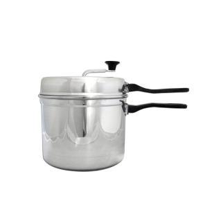 Pipoqueira caseira de alumínio estampado de 4,5 litros ASJ