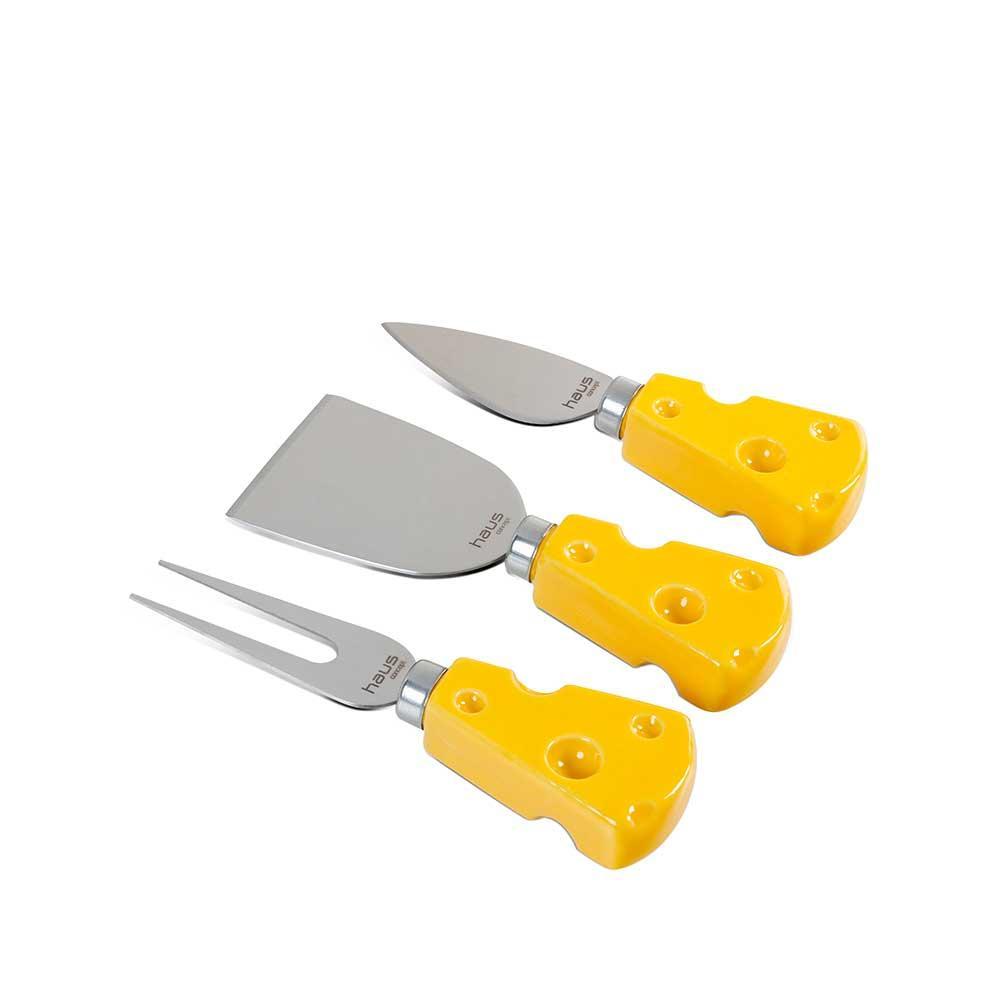 Conjunto para quiejo 3 Pecas Brinox toscana