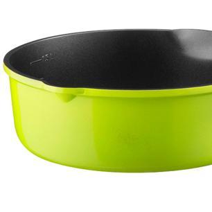 Panela Multifuncional Sem Tampa Verde 20Cm de 2 litros