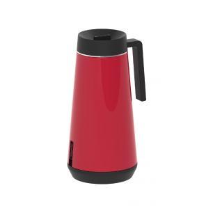 Bule TÉRmico Tramontina Exata Em AÇO Inox Vermelho Com Infusor 750 Ml 61644076