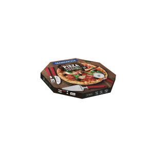Kit Para Pizza Tramontina Com LÂMinas Em AÇO Inox E Cabos De Polipropileno Preto 14 PeÇAs 25099022