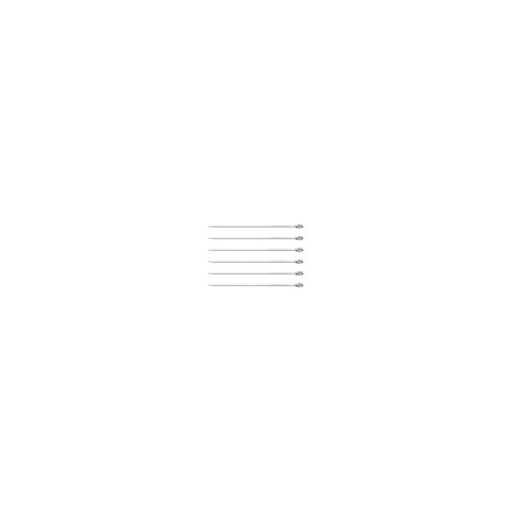 Conjunto De Espetinhos Tramontina Em AÇO Inox 20 Cm 6 PeÇAs 26499002