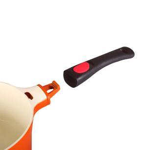 Frigideira revestimento cerâmico 2,4 l 28cm Le Cook LC1814