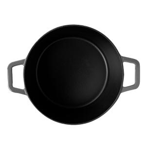 Caçarola Sauté 3,60 Litros Ferro Cinza Brinox 57502/151