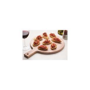 TÁBua Redonda Tramontina Cut & Taste Em Madeira Eucalipto Com Cabo E Furo 30 Cm 13278292