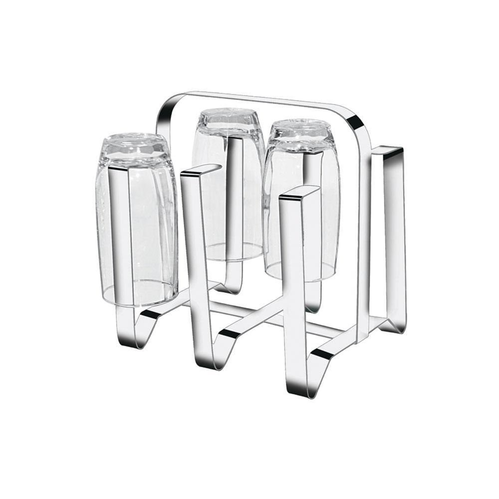 Escorredor de Copos em Inox para 6 copos Makinox