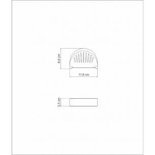 Porta Guardanapos Tramontina Utility Em AÇO Inox Com Detalhes Vazados 61144120