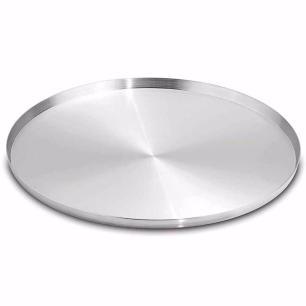 Forma Assadeira Pizza Brotinho 25cm Kit 04 peças ASJ